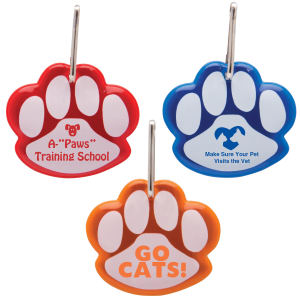 Paw Shaped Reflective Collar