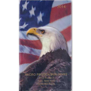 Imprinted Bald Eagle Monthly Planner