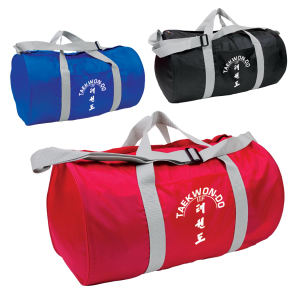 Classic-style gym bag with