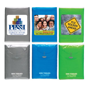 Promotional Tissues/Towelettes-CZ2001BL