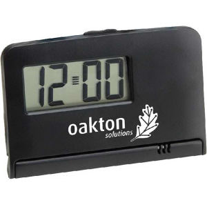 Imprinted Alarm Clock