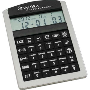Promotional World Time Clocks-CALC0028