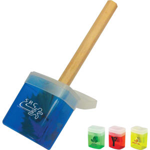 Translucent pencil sharpener with