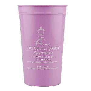 Promotional Stadium Cups-T-ST22-Pink