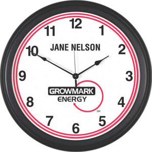 Metal wall clock 18