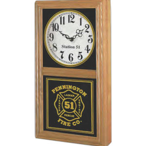 Chesapeake vertical/horizontal wall clock,