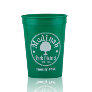 Promotional Stadium Cups-T-ST12-Green