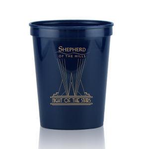 Promotional Stadium Cups-T-ST16-DkBlue