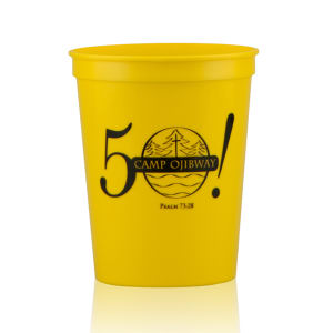 Promotional Stadium Cups-T-ST16-Yellow