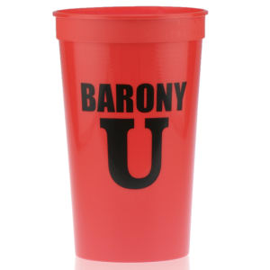 Promotional Stadium Cups-T-ST22- Red