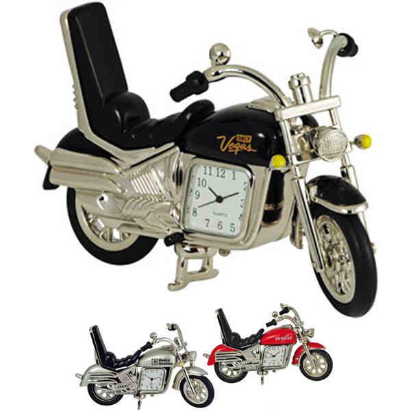 Motorcycle shape metal quartz