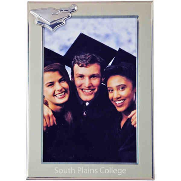 Graduation metal picture frame,
