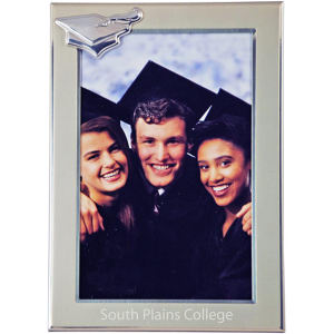 Graduation metal picture frame,