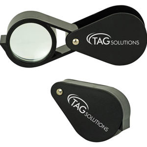 5x large folding magnifier.