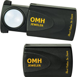 9X illuminated Sliding Loupe