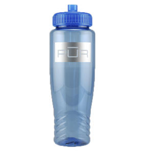 Promotional Sports Bottles-T-B11-BLUE
