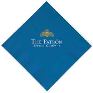 Promotional Napkins-T-N10-BLUE