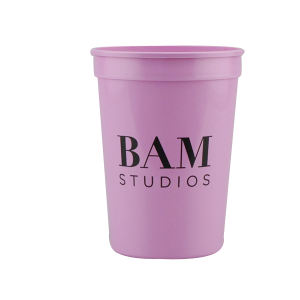 Promotional Stadium Cups-T-ST12- Pink