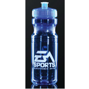 Promotional Sports Bottles-T-B10-BLUE