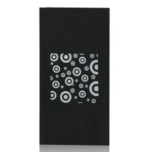 Promotional Napkins-T-N17-Black