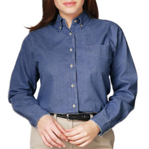 Promotional Button Down Shirts-BG-8202