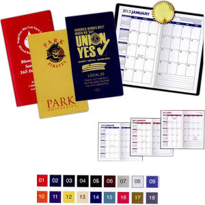 Weekly 1-color planner with