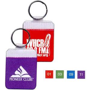 Promotional Vinyl Key Tags-I-219