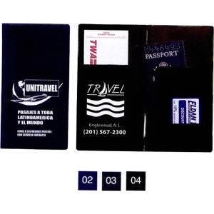 Functional designed passport cover