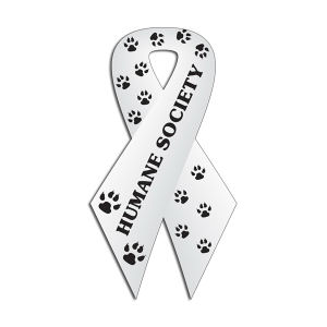Humane Society outdoor ribbon