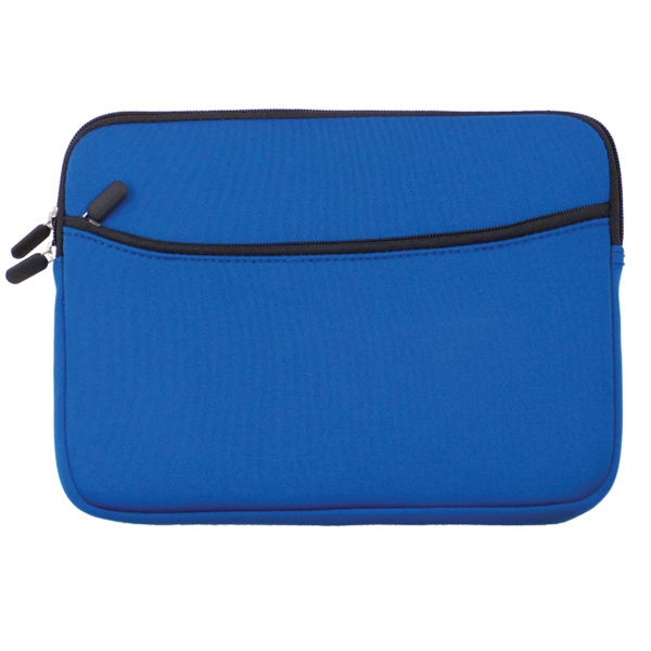 Water resistant laptop sleeve