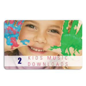 Promotional Music Download Cards-MUSIC-KD-A-01