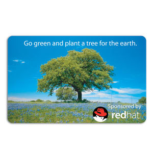 Promotional Music Download Cards-TREE-F-01
