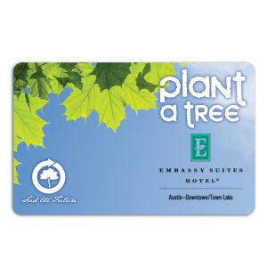 Promotional Music Download Cards-TREE-F-02