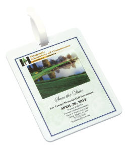 Promotional Golf Bag Tags-9095-CP