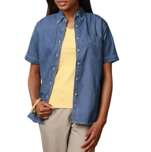 Promotional Button Down Shirts-BG-8202S