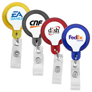 Promotional Retractable Badge Holders-L-312 50