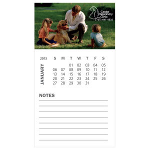 Promotional Magnetic Calendars-MGBCCL