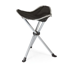 Lightweight, tripod-style footrest with