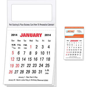Promotional Stick-Up Calendars-700