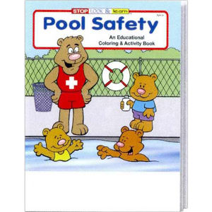 Pool Safety coloring and