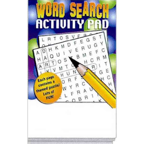 Word Search activity pad