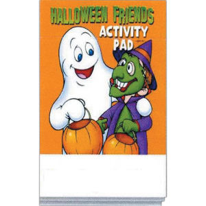 Customized Promo Halloween Activity Pad
