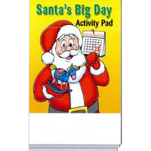 Santa's Big Day activity