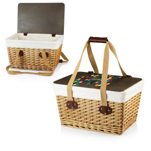 Custom imprinted promotional Picnic Basket