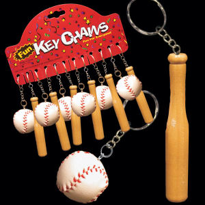 Baseball and bat key