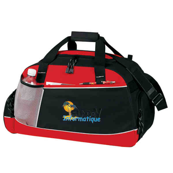 Travel duffel bag with
