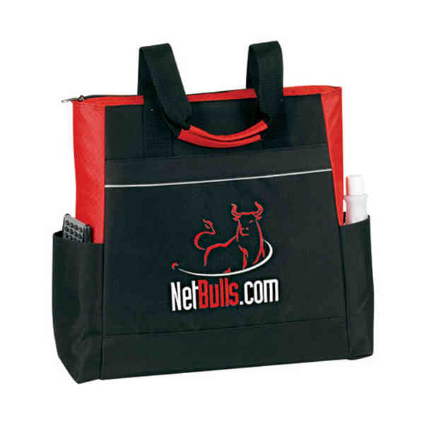 Tote bag with reflective