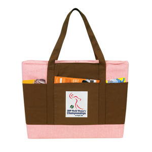 Environmentally friendly canvas tote