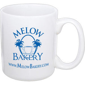 Promotional Ceramic Mugs-CM10WHI