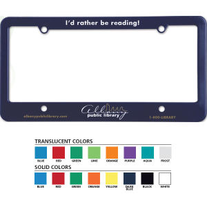 Promotional License Frames-1200S